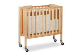 Natural 3 in 1 Folding Portable Crib 09 Silo