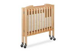 Natural 3 in 1 Folding Portable Crib 10 Silo