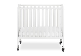 White 3 in 1 Folding Portable Crib 01 Silo