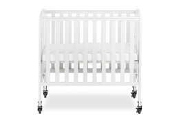 White 3 in 1 Folding Portable Crib 02 Silo