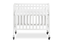 White 3 in 1 Folding Portable Crib 03 Silo