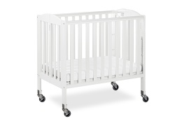 White 3 in 1 Folding Portable Crib 04 Silo