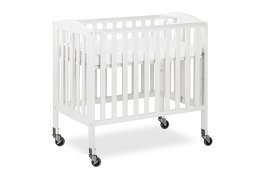 White 3 in 1 Folding Portable Crib 06 Silo