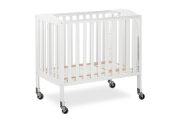 White 3 in 1 Folding Portable Crib 07 Silo