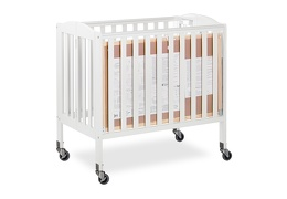 White 3 in 1 Folding Portable Crib 09 Silo