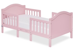 Pink Portland 3 in 1 Convertible Toddler Bed Silo 01