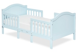 Sky Blue Portland 3 in 1 Convertible Toddler Bed 01