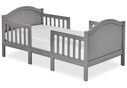 Steel Grey Portland 3 in 1 Convertible Toddler Bed Silo 01