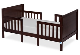 Espresso Hudson 3 in 1 Convertible Toddler Bed Silo 01