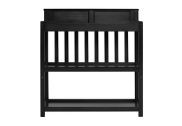 Black Zoey Changing Table Front Silo