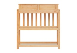 Natural Zoey Changing Table Front Silo
