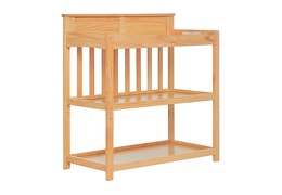 Natural Zoey Changing Table Side Silo