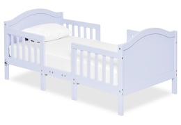 Lilac Portland 3 in 1 Convertible Toddler Bed Silo 04