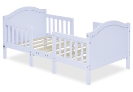 Lilac Portland 3 in 1 Convertible Toddler Bed Silo 05