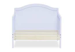 Lilac Portland 3 in 1 Convertible Toddler Bed Silo 06