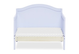 Lilac Portland 3 in 1 Convertible Toddler Bed Silo 07