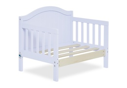 Lilac Portland 3 in 1 Convertible Toddler Bed Silo 08