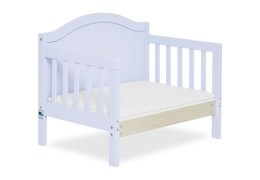 Lilac Portland 3 in 1 Convertible Toddler Bed Silo 09