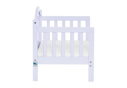 Lilac Portland 3 in 1 Convertible Toddler Bed Silo 10