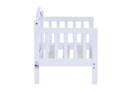 Lilac Portland 3 in 1 Convertible Toddler Bed Silo 11