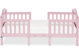Pink Portland 3 in 1 Convertible Toddler Bed Silo 03