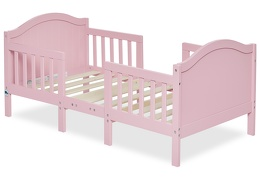 Pink Portland 3 in 1 Convertible Toddler Bed Silo 05