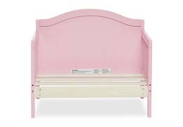 Pink Portland 3 in 1 Convertible Toddler Bed Silo 06