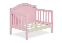 Pink Portland 3 in 1 Convertible Toddler Bed Silo 08