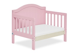 Pink Portland 3 in 1 Convertible Toddler Bed Silo 09