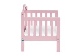 Pink Portland 3 in 1 Convertible Toddler Bed Silo 10