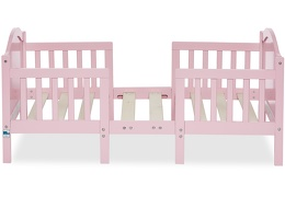 Pink Portland 3 in 1 Convertible Toddler Bed Silo 02