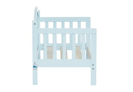 Sky Blue Portland 3 in 1 Convertible Toddler Bed Silo 11