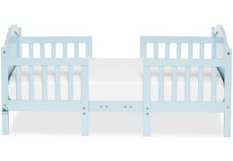 Sky Blue Portland 3 in 1 Convertible Toddler Bed Silo 03