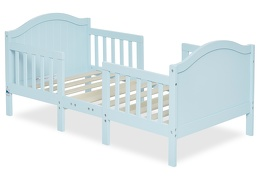 Sky Blue Portland 3 in 1 Convertible Toddler Bed Silo 05