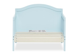 Sky Blue Portland 3 in 1 Convertible Toddler Bed Silo 06