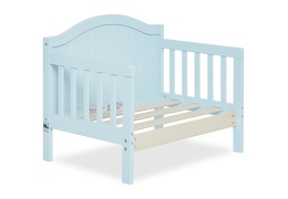 Sky Blue Portland 3 in 1 Convertible Toddler Bed Silo 08
