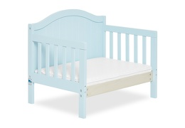 Sky Blue Portland 3 in 1 Convertible Toddler Bed Silo 09