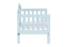 Sky Blue Portland 3 in 1 Convertible Toddler Bed Silo 10