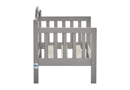 Steel Grey Portland 3 in 1 Convertible Toddler Bed Silo 11