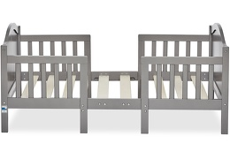 Steel Grey Portland 3 in 1 Convertible Toddler Bed Silo 02