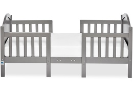 Steel Grey Portland 3 in 1 Convertible Toddler Bed Silo 03