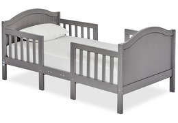 Steel Grey Portland 3 in 1 Convertible Toddler Bed Silo 04