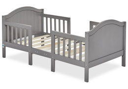 Steel Grey Portland 3 in 1 Convertible Toddler Bed Silo 05