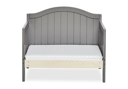 Steel Grey Portland 3 in 1 Convertible Toddler Bed Silo 07
