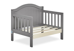 Steel Grey Portland 3 in 1 Convertible Toddler Bed Silo 08