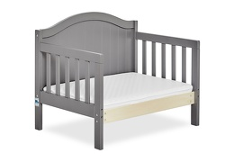 Steel Grey Portland 3 in 1 Convertible Toddler Bed Silo 09