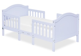 Lilac Portland 3 in 1 Convertible Toddler Bed Silo 01
