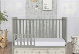 Cool Grey - Springfield Toddler Bed