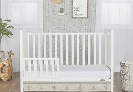 White - Springfield Toddler Bed
