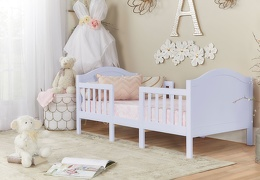 638 LI Lilac Portland 3 In 1 Convertible Toddler Bed 01